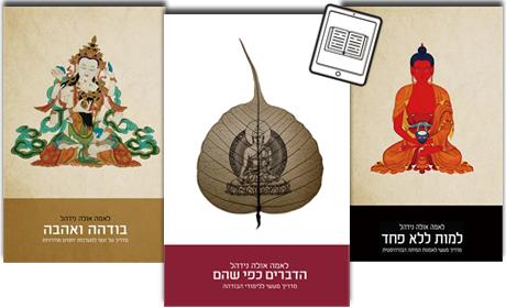 הספרים של לאמה אולה בפורמט הדיגיטאלי
